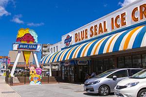 ブルーシールアイスクリームビッグディップ牧港本店