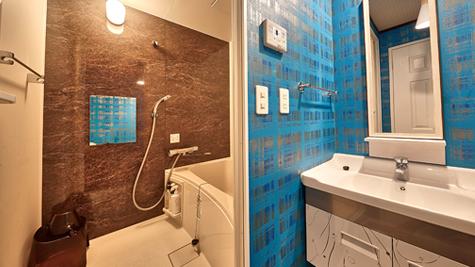 清潔感のあるバス・トイレ湯舟に浸かり心もカラダもリフレッシュ!ウォシュレット付トイレも完備。